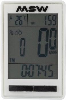 MSW Miniac Double Wireless Bike Computer