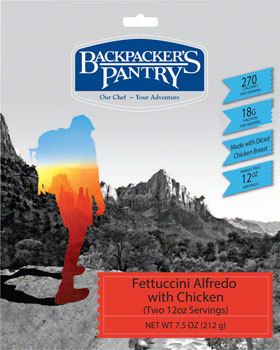 Backpackers Pantry Fettuccini Alfredo with Chicken