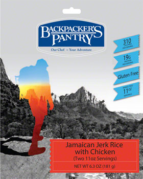 Backpackers Pantry Jamaician Jerk Rice with Chicken